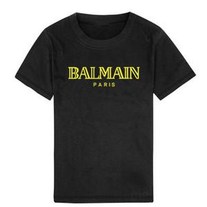 2019 New Hot designer enfants Chemises marque 1-7ans Bébés garçons filles T-shirts r shirt Tops coton enfants Tees vêtements pour enfants 4 couleurs # 04