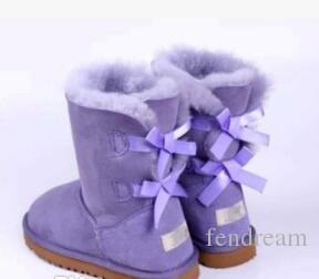 2017 Christmas Promotion Womens boots BAILEY BOW Boots NEW 3280 Snow Boots for Women