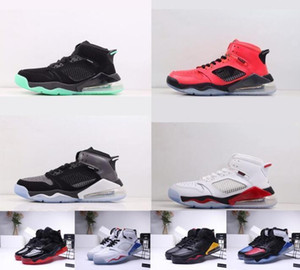 Top quality MJ Retro27c Mars 270s Jumpman Male Basketball Shoes Bred DMP Grape Fire Red Green Glow 270 Michael Outdoor Sneakers
