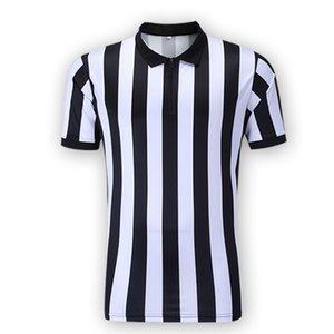 남자 농구 축구 축구 스포츠 심판 Umpire 셔츠 심판 셔츠 저지 의상 짧은 소매, 위킹 및 속보