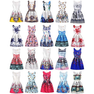 Vestidos de Designer de criança 2019 Marca Meninas Borboleta Bordado Sundress Bebê Sem Mangas Princesa Vestido De Luxo Desgaste das Crianças 20 Estilos