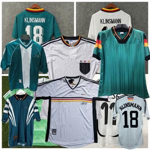1988 1990 1992 1994 1996 1998 2004 Maglia Retro calcio Germania MATTHAUS BALLACK Klinsmann KLOSE maglia da calcio casa lontano