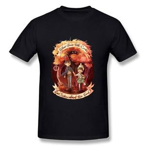 Смешные футболки с надписью O Garden Wall Men O - Футболки с вырезом