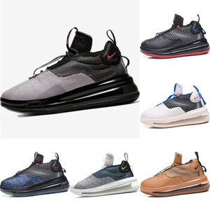 Avec Box 2020 Vagues en cuir et tricot sport coupe-bas Chaussures Originals Waves Tous Zoom Air Cshioning Hauteur Chaussures augmentation