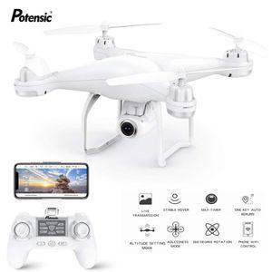 Potensic T25 GPS Drone FPV Con 1080 P HD Wifi Della Macchina Fotografica RC Droni Selfie Follow Me Quadcopter GPS Glonass Quadrocopter 300 m T200420