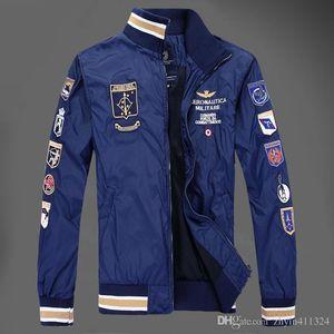 Großhandels- Neue Mode 2019 Männer Strickjacken Casual Marke Herbst Mantel Marineblau Herrenjacke Abrigos Y Chaquetas Hombre
