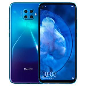 Original de telefone celular Huawei Nova 5Z 4G LTE 6GB RAM 64GB 128GB ROM Kirin 810 Octa Núcleo Android 6,26 polegadas 48MP Fingerprint ID Rosto Mobile Phone