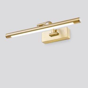 Mirror Headlight Bathroom LED European Style Mirror Lamp Bathroom Toilet Mirror Cabinet Lamp Anti-fog Wall Light 10W 10168