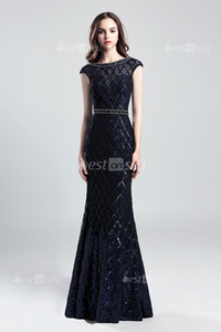 LX539 Navy Blue In Stock Jewel Tulle with Beads Sequins Homecoming Dresses Occasion Dress Cheap Cocktail Party Prom Gowns