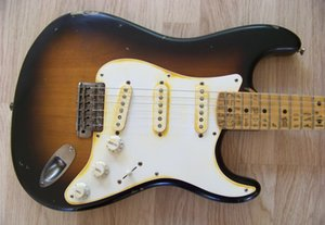Edición limitada Masterbuilt Eric Clapton Brownie tributo Relic guitarra eléctrica