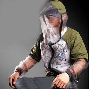 Fishing Clothes Anti-mosquito Clothing Quick-dry Mosquito Prevent Suit Outdoor Jackets Hoodies