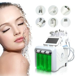 2020 New 6 In 1 H2-O2 Hydra Dermabrasion Aqua Peel Rf Bio-Lifting Spa Hydro Water Microdermabrasion Facial Machine Cold Hammer Oxygen Spray