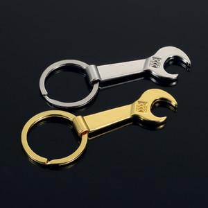 Spanner Flaschenöffner Werkzeug Metall Schraubenschlüssel Öffner Schlüsselanhänger Schlüsselanhänger Silber Gold 8,5 * 3,2 cm Spanner Öffner