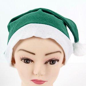 Tejida Sombrero Non Christmas 4 colores adultos sombreros de Santa Partido Chiristmas Puntales de Navidad de la felpa de los sombreros del partido OOA7444