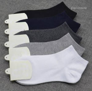 Mens calze sportive casual Athletic Designer Estate Inverno Primavera Calze traspirante Mens colore solido Skateboarding Socks