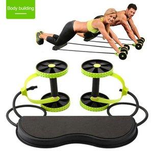 Multi-Funktions-Elastic Rally Fitness Rad Bauchkörpertrainingsgerät Männer Frauen Abdominal Abnehmen Trainingsmaschine