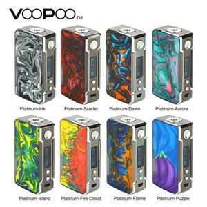 Origianl VOOPOO Drag 2 Platin 177W TC Box MOD 510 Gewinde Mod mit lichtechter und kratzfester Platinfassung Elektronische Zigarette