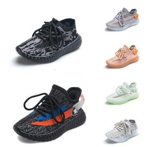 2020 Nueva Fashiony3 Zapatos Casual Botas Kanye West Y-3 Rojo Blanco Negro de alta Top zapatillas de deporte de los niños impermeable de cuero genuino # 440