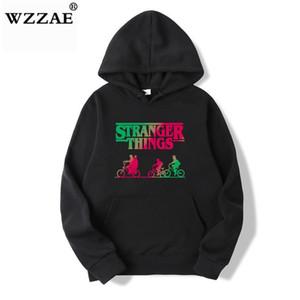 Felpe con cappuccio Stranger Things uomini / donne abbigliamento casual moda Felpe con cappuccio Hip Hop Stranger Things da uomo