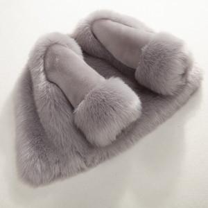 Dollplus Winter Girls Шуба Элегантный Baby Girl искусственного меха куртки и пальто толстый теплый Parka Детская одежда Бутик MX191030
