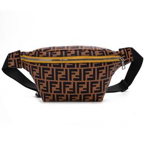 Tasche Unisex Zaino signora degli uomini di cuoio lettere Priented Sport Fashion Bag petto Produttori di alimentazione della molla dell'unità di elaborazione artificiale