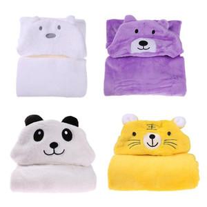 Капюшон банное полотенце для детей Детский халат милый Животный полотенце мультфильм детские вещи одеяло дети с капюшоном халат малыш детское банное полотенце оптом