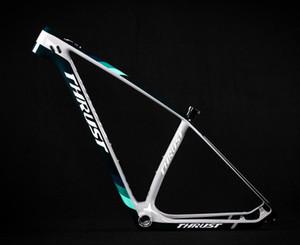 Bicicleta de empuje China Carbon MTB Frame 29er Bicicletas Bicicleta de montaña 29 Piezas de bicicleta Marco de carbono 142 * 12 o 135 * 9mm Bicicleta