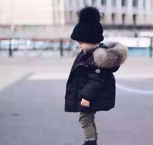 Chaqueta caliente de los bebés del bebé Otoño Invierno Chicos con capucha Abrigo con capucha Ropa para niños Chaquetas gruesas niños pequeños Bebés niños Ropa para niños Ropa de abrigo