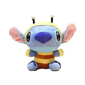 Süper Sevimli Lilo ve Stitch Peluş Oyuncak Bebek Güzel Dikiş Oyuncak Kız ve Erkek Peluş Hayvanlar Oyuncak Hediye Minion Juguetes için