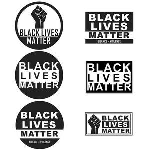 vie noire importance autocollant mural vie noir importance autocollants de voiture autocollants Parade de plancher de distance sociale T9I00423