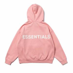 3M réfléchissant Essentials Boxy FOG à capuche Homme Femme Image icon haute qualité Sweat-shirt mode de planche à roulettes en vrac S-XL 12nnf0087 #