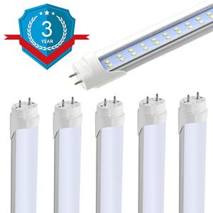 Tubo T8 T10 T12 LED Light, dupla fileira LED Tubes, Dual-Ended Energia, Shatterproof, Loja Luz para Garage, Armazém, Pacote de 25