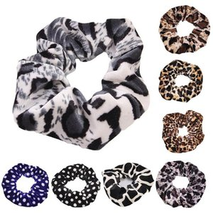 Leopard Women Hair Accesorios Ladies Hair Tie Striped Lady Scrunchies Ponytail Female Girl Holder Rope Hair Tie Party Favor