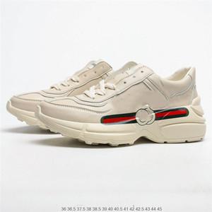 gucci shoes 2020 últimos zapatos ocasionales de los hombres de las mujeres calzado deportivo zapatillas blancas entrenadores atléticos Walking El calzado para correr jogging