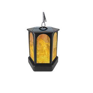 lâmpada 96LED Solar cintilação Chama Luz impermeável ao ar livre Quintal Tocha Garden Courtyard decorativa Luzes Solar