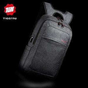 Tigernu Male Backpack Bag Marca 15.6 pollici Notebook Notebook Mochila per uomini zaino impermeabile zaino scuola donne zaino