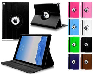 360 degrés de rotation en cuir PU Support Phone Tablet Flip Case Cover pour iPad Pro 11 2020 Mini 5 Pro 11 2018 Air 2 iPad 9.7 Pro 10.5