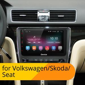 4G LTE SIM de rede Ownice K1 K2 K3 Octa 8 Núcleo Android 9.0 2G RAM 2 Radio Din Car DVD GPS Navi Para o jogador VW Skoda Octavia 2