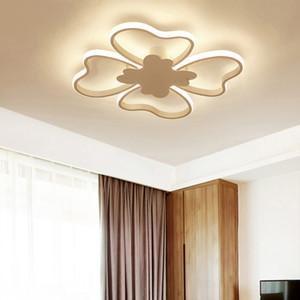 Современные светодиодные люстры светильники для спальни исследования столовой освещения AC85-260V Главная прямоугольник квадратный для светодиодных светильников люстры