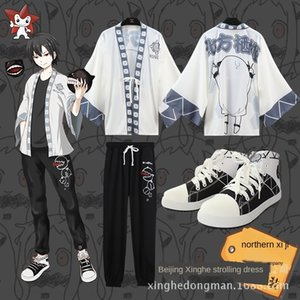 Ship mother Collection North Qi Ji North sauce feather woven leisure sports pants Sports pants Coat coat board shoes set