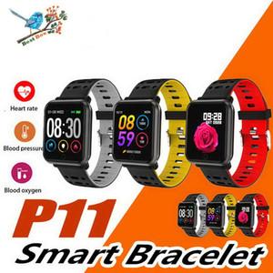 Dispositivo indossabile intelligente P11 smart watch telefono cellulare impermeabile cardiofrequenzimetro smart watch sport pressione sanguigna per iOS Android