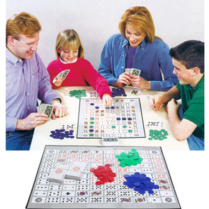 Brettspiele Challenge Sequence Strategy Card Für 2-12 Spieler Family Fun Game Strategy Card Aufregende Multiplayer-Desktop-Spiele