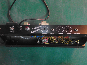 Vintage Reissue '63 Reverb Unit Tank Guitar Chassis with Tweed Grill Dwell, Mix, Tone Control Free Shipping