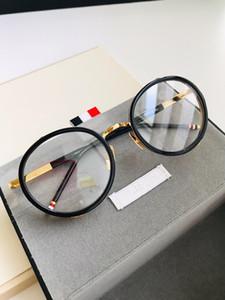 S813 lusso germania occhiali moda uomo donna designer tondo stile retrò titanio full frame alta qualità gratis vieni con custodia 813