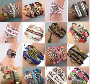 DIY Originalität, Mode, Außenhandel, Explosion, Versorgung, Europa und die Vereinigten Staaten, große Freundschaft, mehrschichtiges gewebtes Armband, ein vari