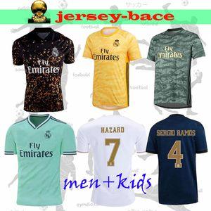 Nuevo 19 20 Real Madrid camiseta de fútbol PELIGRO hogar lejos tercera MODRIC JOVIC RODRYGO VINICIUS JR BENZEMA SERGIO RAMOS niños hombres camiseta de fútbol