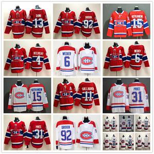 Монреаль Канадиенс Хоккей 6 Shea Weber 11 Брендан Галлахер 13 Макс Доми 15 Jesperi Kotkaniemi 31 Carey Цена 92 Jonathan Drouin Трикотажные изделия