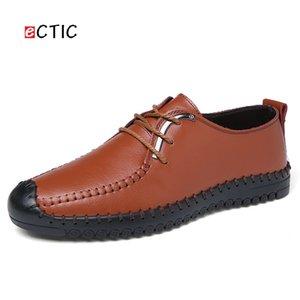 ECTIC Léger En Cuir Hommes Chaussures Formelles Pointu Toe Mariages À Lacets Robe Business Office Style Gentleman