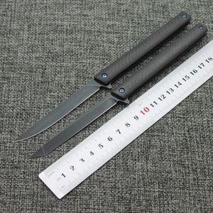 Новый M390 стальной кромки пера складной нож (углеродное волокно рукоятка) складной нож спасательное оборудование на открытом воздухе выживания кемпинга ДХЭ небольшой раскладной knif
