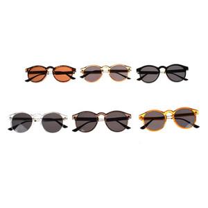 2020 New Fashion Arrival Round Sunglasses Retro Men women Sunglasses Vintage coating mirrored Driver Goggles